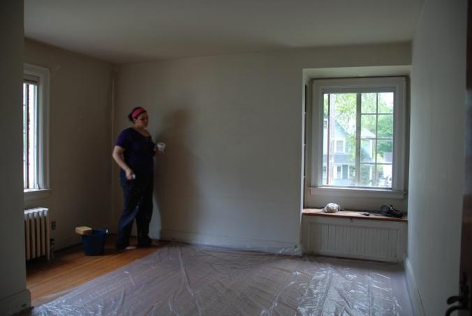 Medium Bedroom Before Painting