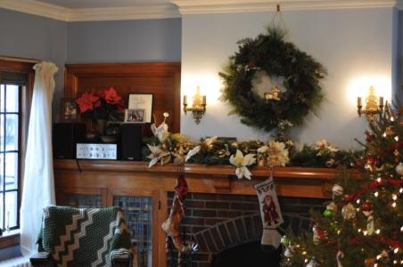 Garlands, fake poinsettias, wreaths, and more!